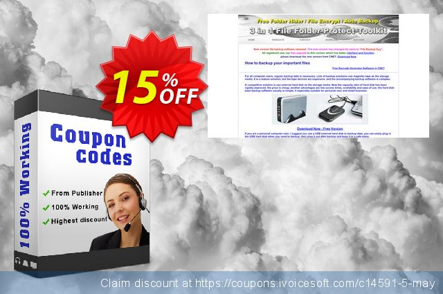 6in1 Barcode Generator Toolkit + File Backup and Network Testing software Permanent License 惊人的 折扣 软件截图