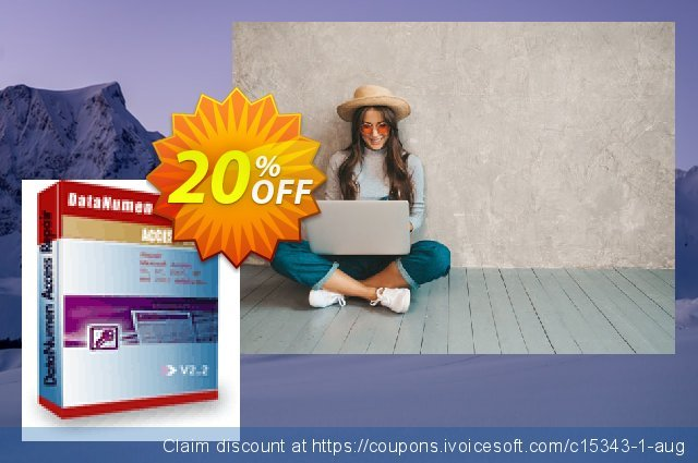 DataNumen Access Repair discount 20% OFF, 2019 Thanksgiving offering sales