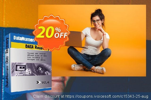 DataNumen Data Recovery discount 20% OFF, 2019 Student deals offering sales