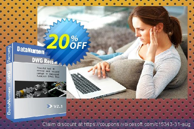 DataNumen DWG Recovery discount 20% OFF, 2021 New Year offering discount