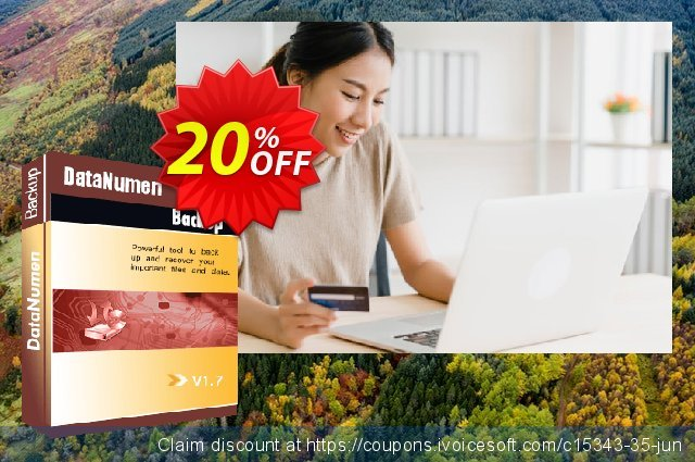 DataNumen Backup discount 20% OFF, 2020 Christmas sales