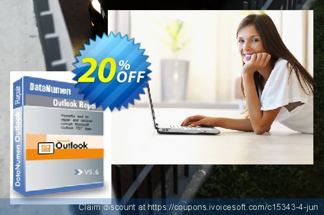 DataNumen Outlook Repair discount 20% OFF, 2019 April Fools' Day offering sales