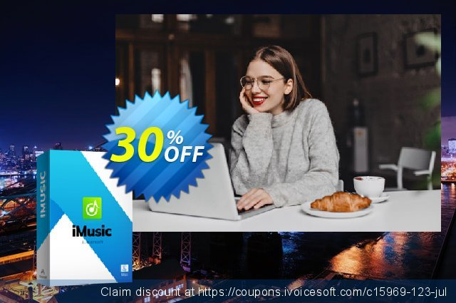 iMusic for Mac discount 30% OFF, 2020 New Year's Day offer