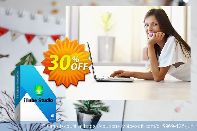 iTube Studio for Mac discount 30% OFF, 2020 January offering discount