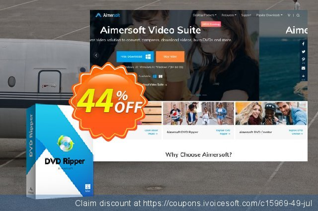 Aimersoft DVD Ripper for Mac discount 30% OFF, 2019 April Fools Day sales