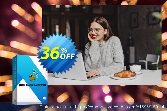 Aimersoft DRM Media Converter for Windows Screenshot