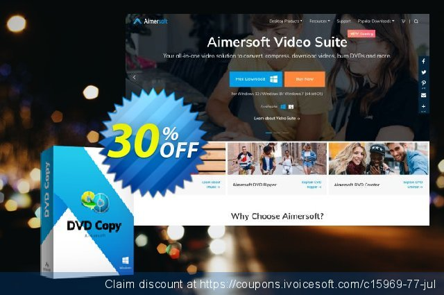 Aimersoft DVD Copy for Mac discount 30% OFF, 2020 Back to School Promos offering sales