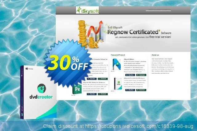 iSkysoft DVD Creator discount 30% OFF, 2020 American Heart Month discounts