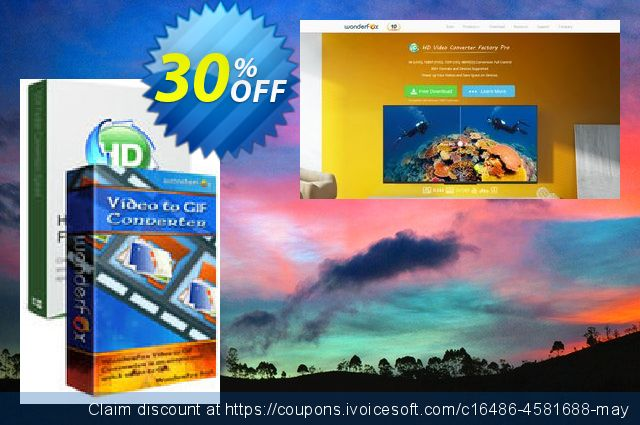 HD Video Converter Pro + Video to GIF Converter discount 30% OFF, 2019 Exclusive Student discount offer