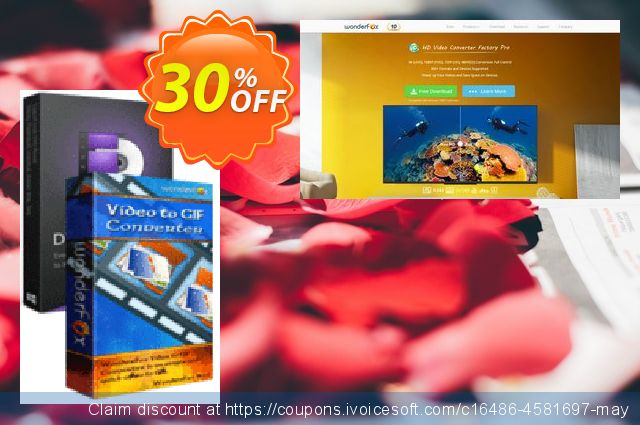 WonderFox DVD Ripper + Video to GIF Converter discount 30% OFF, 2019 Back to School Promos offering sales
