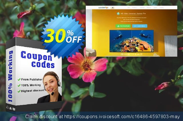 AVI Video Converter Factory Pro discount 30% OFF, 2019 College Student deals offering sales