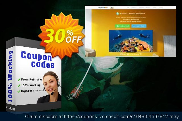 3GP Video Converter Factory Pro discount 30% OFF, 2019 Back to School coupons offering sales