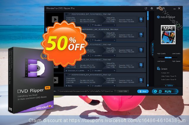 WonderFox DVD Ripper Pro discount 50% OFF, 2019 Exclusive Teacher discount offering sales