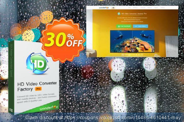 HD Video Converter Factory Pro (3PCs) discount 30% OFF, 2019 Teacher deals promo