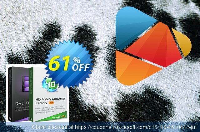 HD Video Converter Factory Pro discount 30% OFF, 2019 College Student deals offering sales
