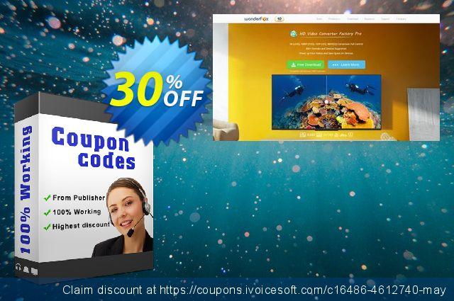 WonderFox DVD Video Converter Plus Video Watermark令人惊讶的折扣码 软件截图