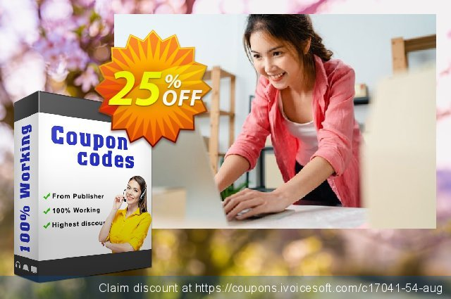 Get 25% OFF Pavtube FLV Converter offering sales