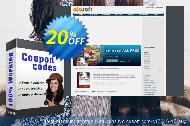 OJOsoft MOV Converter discount 20% OFF, 2020 American Independence Day offering sales