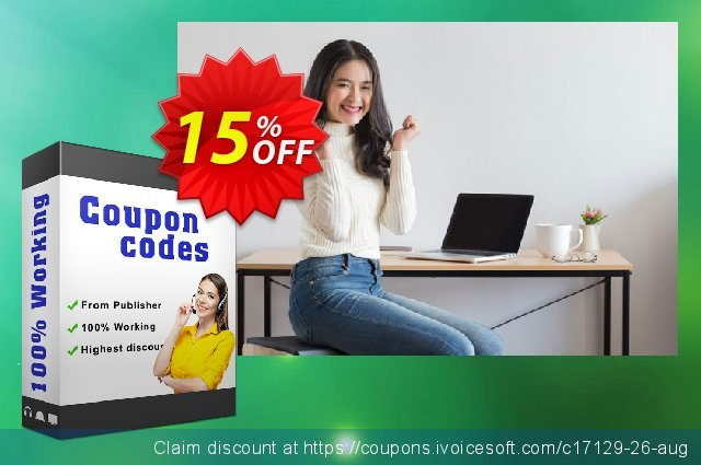 Get 15% OFF Disk Doctors Smart Email Backup offering deals