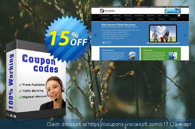 Disk Doctors FAT Data Recovery - End User Lic. discount 15% OFF, 2020 July 4th offering sales