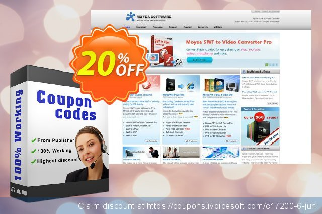 Moyea PPT to PDF Converter discount 20% OFF, 2019 Black Friday promo