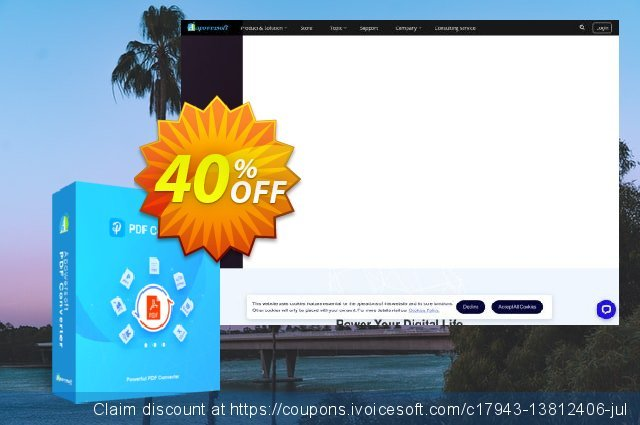 Apowersoft PDF Converter Personal License (Lifetime) discount 30% OFF, 2019 Black Friday offering sales