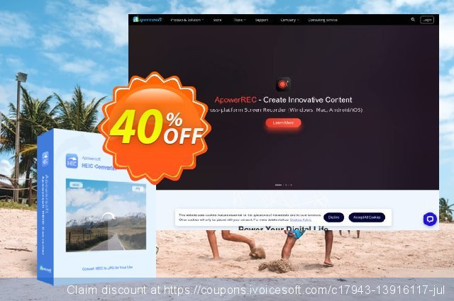 HEIC Converter Family License (Lifetime) discount 40% OFF, 2021 New Year's Day promo
