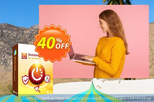 Windows Shutdown Assistant Family License (Lifetime) discount 40% OFF, 2021 New Year's Day offer