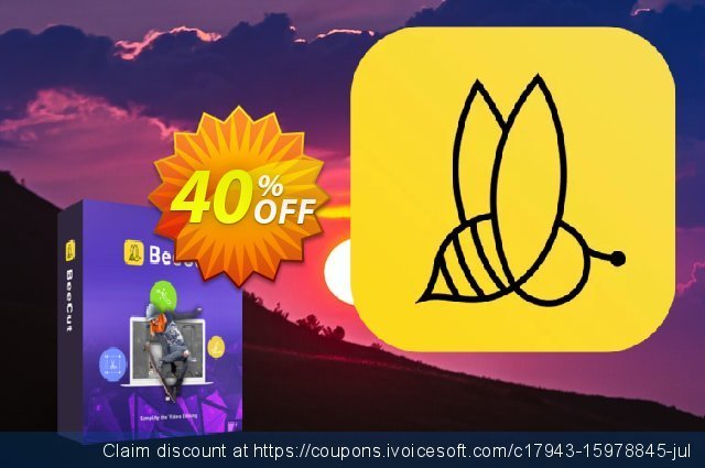 BeeCut Family License (Lifetime) discount 40% OFF, 2021 Happy New Year deals