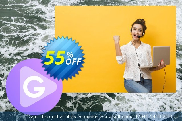 Apowersoft GIF (Yearly Subscription) discount 55% OFF, 2020 Thanksgiving Day offering sales