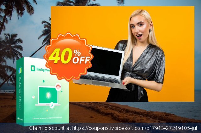 Apowersoft Android Background Eraser (20 images) discount 40% OFF, 2021 New Year's Weekend offering sales