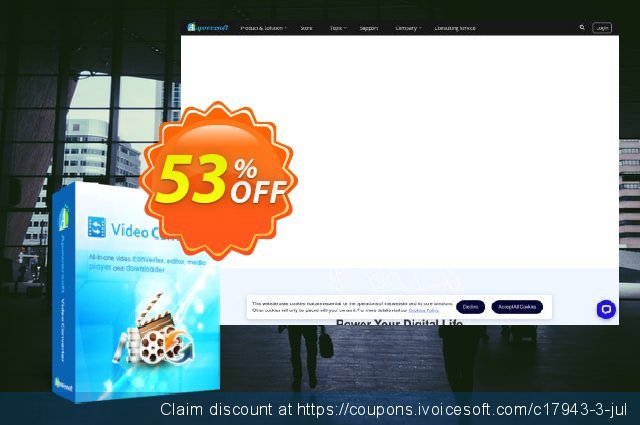Video Converter Studio Yearly discount 53% OFF, 2021 Mother's Day sales. Video Converter Studio Personal License (Yearly Subscription) awesome discounts code 2021