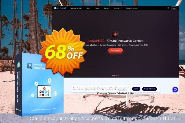 Video Download Capture Personal Lifetime discount 57% OFF, 2020 April Fools' Day discount