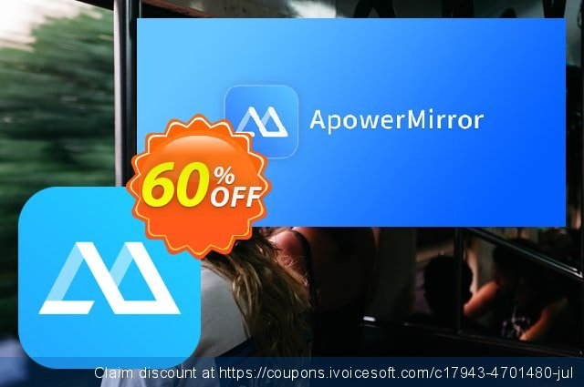 ApowerMirror Business Yearly discount 53% OFF, 2020 New Year's Weekend offering sales