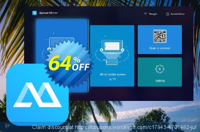 ApowerMirror Business Lifetime discount 57% OFF, 2019 Thanksgiving promo