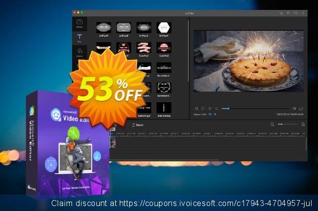 ApowerEdit Business Yearly discount 53% OFF, 2019 Thanksgiving Day offering deals