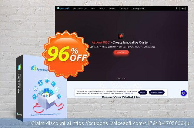 Apowersoft Unlimited Business Yearly discount 96% OFF, 2019 Summer offering sales