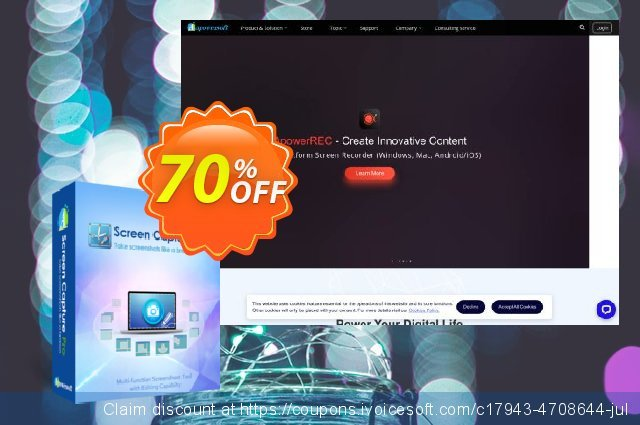 Screen Capture Pro Yearly discount 53% OFF, 2020 July 4th discount