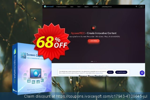 Screen Capture Pro Lifetime discount 68% OFF, 2020 College Student deals offering sales