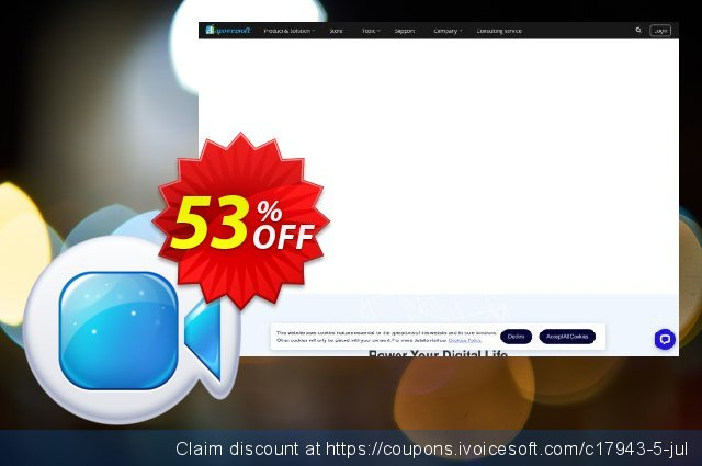 Apowersoft Mac Screen Recorder discount 53% OFF, 2019 College Student deals offering sales