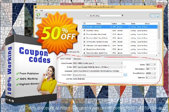 Easy DRM Converter discount 50% OFF, 2020 Halloween offering sales