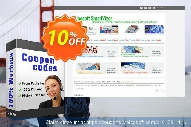 SmartVizor Bill Statement Report Printing Software V22.0 discount 10% OFF, 2019 Black Friday offering sales