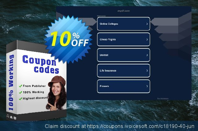 AXPDF PDF Watermark creator discount 10% OFF, 2020 Back to School coupons offering sales