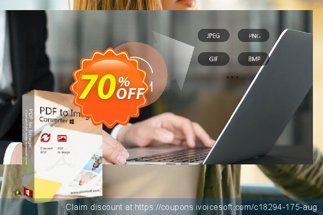 Aiseesoft PDF to Image Converter discount 70% OFF, 2020 Labour Day offering sales