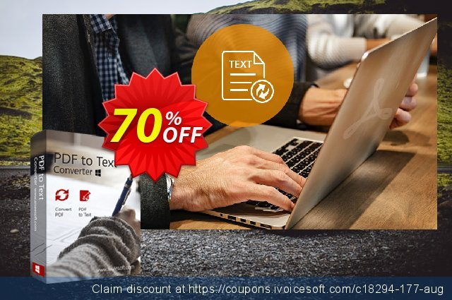 Aiseesoft PDF to Text Converter discount 70% OFF, 2021 New Year's Weekend promo sales