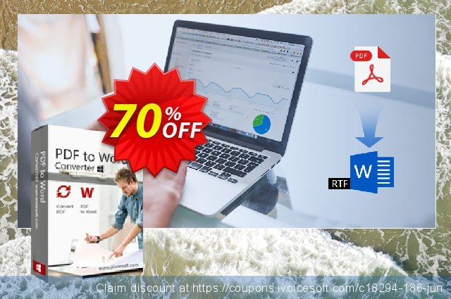 Aiseesoft PDF to Word Converter discount 70% OFF, 2020 Summer offer