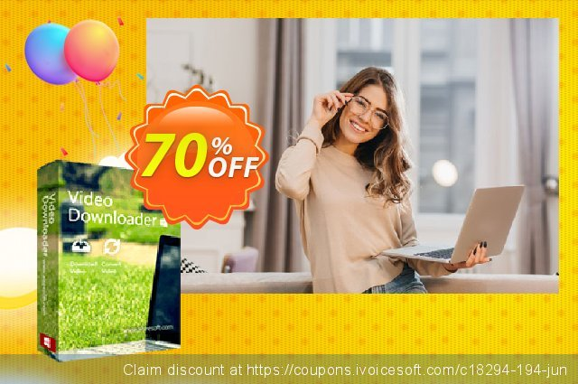 Aiseesoft Video Downloader discount 70% OFF, 2020 Thanksgiving offering sales