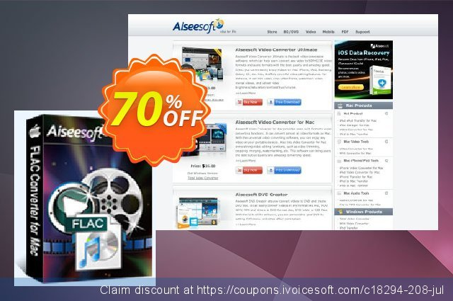 Aiseesoft FLAC Converter for Mac  최고의   매상  스크린 샷