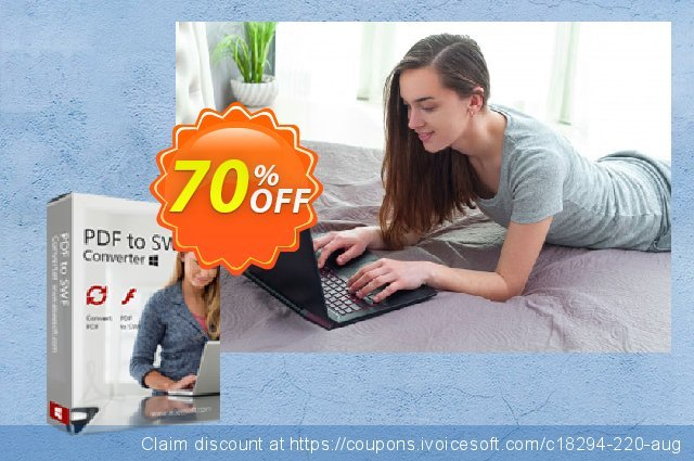 Aiseesoft PDF to SWF Converter discount 40% OFF, 2019 Summer discounts