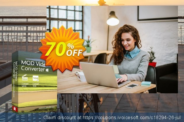 Aiseesoft Mod Video Converter discount 40% OFF, 2019 Happy New Year offering sales